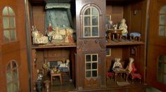 """An early 18th Century (1705) doll's house, described as """"of national importance"""", has been valued by the BBC's Antiques Roadshow at more than £150,000."""