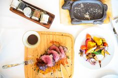 Steak, filet-mignion, grilled to perfection, restaurant fine-dining, #mediumrare