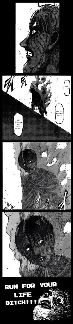 Zeke better be scared, especially now when Levi has sworn to fulfill Erwin's last orders and kill the Beast Titan.