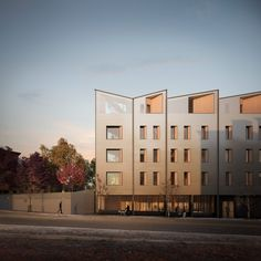 Generate has unveiled plans to build CLT apartment block named Model-C in Boston, which will operate at a net-zero-carbon level. Mix Use Building, Building Systems, Construction Waste, Wood Construction, Carbon Sink, Cladding Materials, Timber Buildings, Timber Structure, Passive House