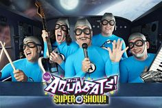I love the Aquabats and their new show is great! Son loves it