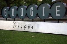 """Tim posted a picture on Flickr of a burger place that looks like it was named """"Google Burger."""" In reality it is named Googie Burger and it is a burger joint in Atlanta.  The sign kind of makes the i l"""