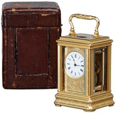 Drocourt | Carriage Antique Clock
