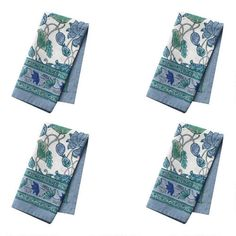 One of my favorite discoveries at ChristmasTreeShops.com: Floral Print Cotton Napkins, Set of 4