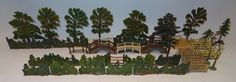 Lot 324 - Trees, Hedge and Fences Britains Toys, Penny Farthing, The Saleroom, Toy Soldiers, Hedges, Diorama, Fence, Beautiful Things, Miniatures
