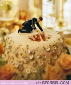 """For any of you that know me as the """"Destructor"""" you know why I am pinning this. This will not be my cake topper, but I couldn't resist."""