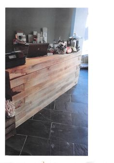 Desk Made From Oak Sleepers In Hastings