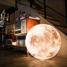 These Magical Moon Lamps Will Cast a Spell on You: If you've ever wanted to give someone the moon, this gorgeously symbolic gesture is a close second.