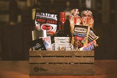 The Ultimate Valentine's Day Gift Baskets for Men - The Classy Chics #AD