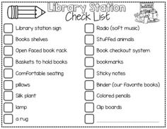 Library Work Station {Teacher's Companion} Everything you need to help plan your classroom library!