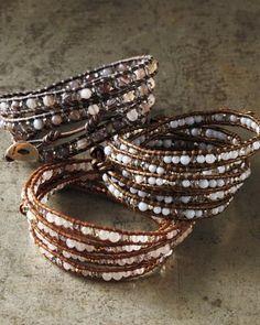 Chan Luu Crystal Wrap Bracelet: $129 on sale @Garnet Hill. Compare w/ Beadtown.