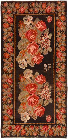 Vintage rose rug Loom Rugs http://www.loomrugs.com.au/?page_id=18#2