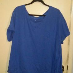 Ana Blue Top Very good condition ana Tops Tees - Short Sleeve