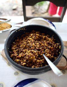 Baião-de-Dois (Rice and Black-Eyed Peas)