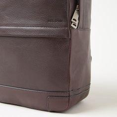 Jack Spade Bristol Leather Maddox Backpack