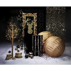 Deko Dekoidee Goldglimmer & Dekoration bei DekoWoerner