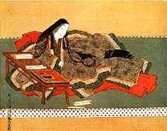 Murasaki Shikibu is the best known writer to emerge from Japan's glorious Heian period. Her novel, The Tale of Genji (Genji-monogatari) is considered to be one of the world's finest and earliest novels. Some argue that Murasaki is the world's first modern novelist.