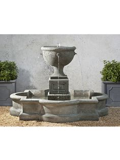 FT-197 Campania International Cast Stone Fountains: Navonna Fountain