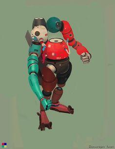ArtStation - magnetic bot, Ivan Rastrigin