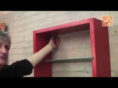 Como pendurar uma estante - YouTube