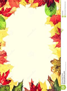 Autumn Leaves Frame - Download From Over 39 Million High Quality Stock Photos, Images, Vectors. Sign up for FREE today. Image: 26293285