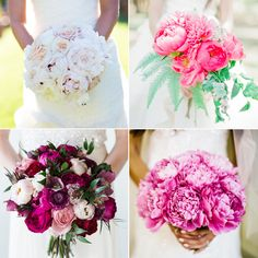 Brides: 20 Fresh Peony Wedding Bouquet Ideas   Wedding Bouquet Ideas   Wedding Flower Photos | Wedding Ideas