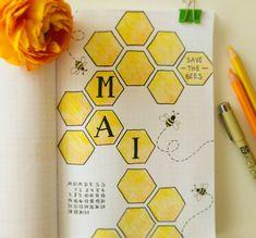 #bulletjournal #bujo #Bienen #bees