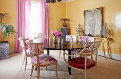 Mimosa Lane: Interiors || Amanda Nisbet's Colorful Home