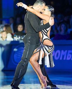 Maurizio and Andra from 2015. Visit www.ballroomguide.com for more info on ballroom and latin dancing.