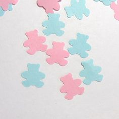 Teddy Bear Confetti Baby Shower 450 Pieces by LaurelPhotoandCraft, $5.00