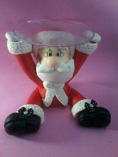 OTRAS ARTESANAS Christmas Fair Ideas, Polymer Clay Christmas, Polymer Clay Crafts, Decor Crafts, Christmas Crafts, Christmas Decorations, Christmas Ornaments, Polymer Project, Cold Porcelain