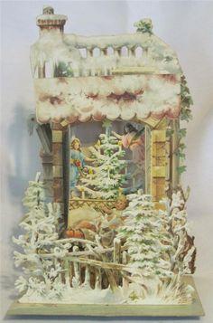 3-D Christmas card