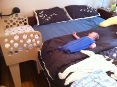 Co sleeper, sidecar crib
