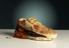 This week is the start of #wimbledon. So how about making a Tennis shoe sandwich! What do you think?
