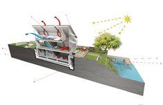 baca architects - amphibious house