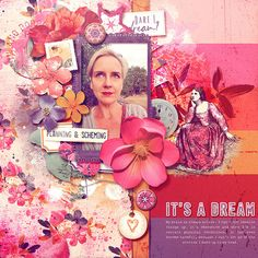 Cant Let Go, My Brain, Daydream, Digital Scrapbooking, Layouts, My Design, Invitations, How To Plan, Create