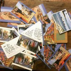 36 Postkarten später.