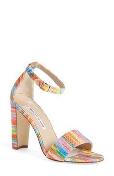 Manolo Blahnik 'Lauratopri' Sandal (Women) available at #Nordstrom