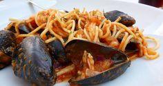 Mediterranean Recipes, Ratatouille, Spaghetti, Pasta, Ethnic Recipes, Noodle, Pasta Recipes, Pasta Dishes