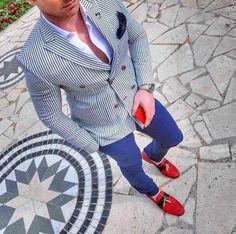 Nice blazer with perfect pants