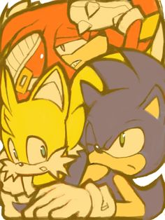 Sonic, Tails & Knuckles...how did you guys get there?