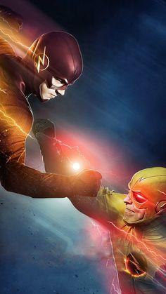flash x flash reverso Flash Comics, Arte Dc Comics, Flash Marvel, The Flash Poster, The Flash Art, Foto Flash, Flash Characters, Flash Barry Allen, Flash Wallpaper