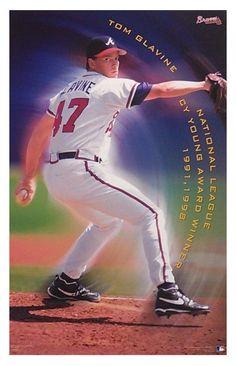 Tom Glavine Braves Baseball, Baseball Cards, Tom Glavine, World Of Sports, Atlanta Braves, Toms, Basketball Court, Legends