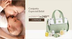 Economize R$50!Esse conjunto vem com tudo que o seu bebê precisa na hora do banho.Aproveite o desconto especial e compre online.