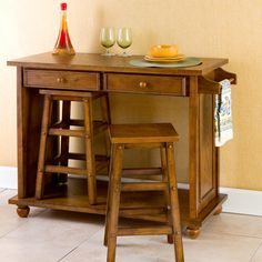 small movable kitchen island with stools | iecob | desk ideas