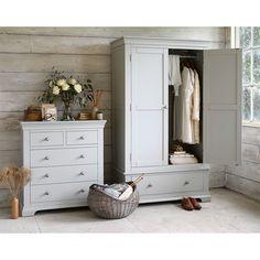 Chambery grey wardrobe Cotswold Company