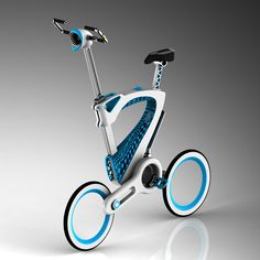 MORI folding bike aims to increase the rate of bike ridership especially in an urban environment for better sustainable future.