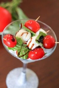 5 ways to make caprese salad!