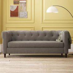 sillon sofá chester abotonado 2mt | 4 sentados