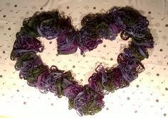 Violetti kaulaliina (Novita Frilla)
